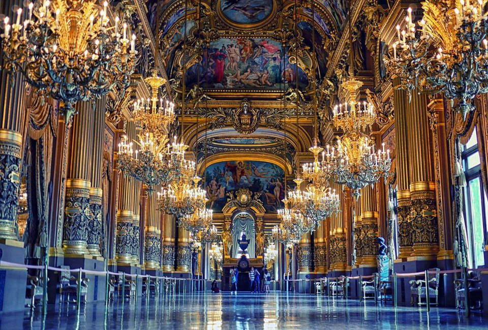 Ópera Garnier paris francia