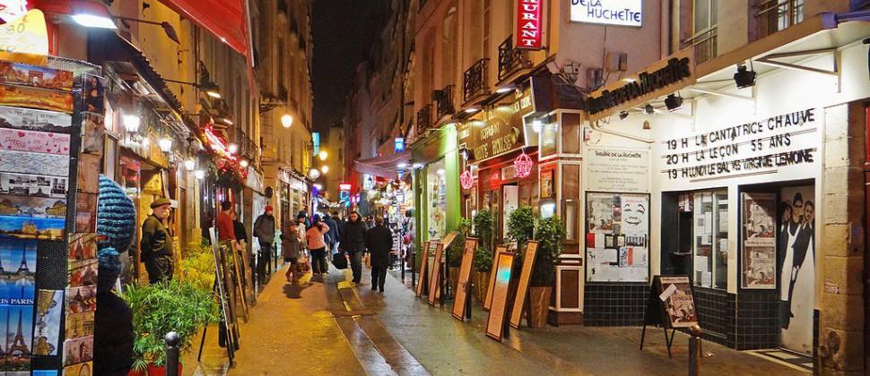 Barrio Latino paris francia
