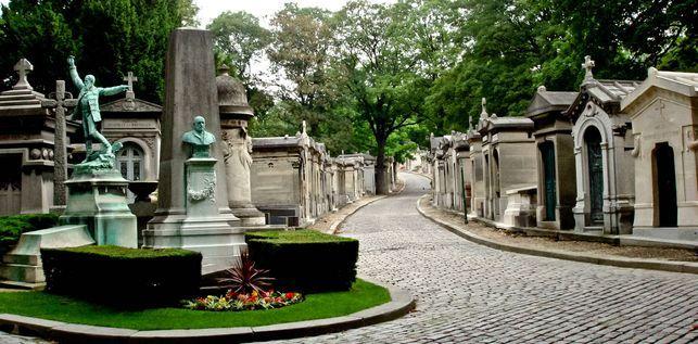 Cementerio de Pere Lachaise paris francia