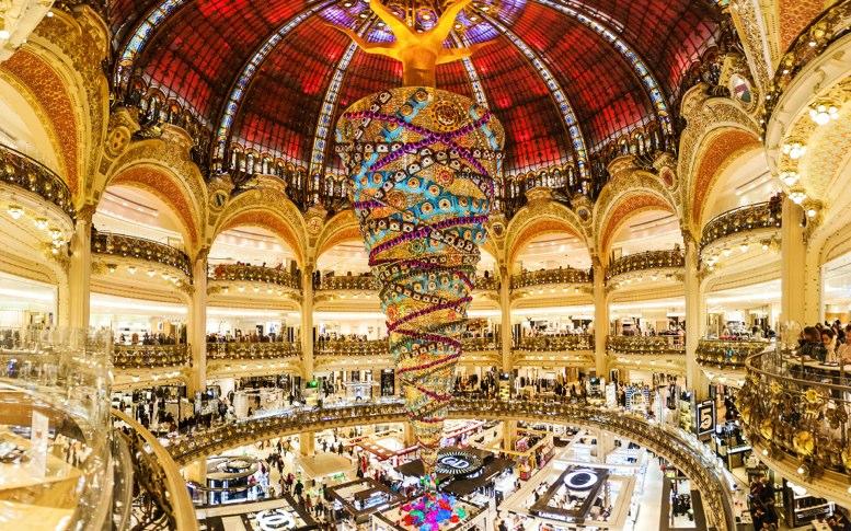 Galerías Lafayette paris francia